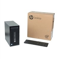 HP ProDesk 400 G3 Desktop Computer; Intel Core I5-6600 Processor 3.3GHz; Microsoft Windows 7 Professional 64-bit; 8GB DDR4-2133 RAM; 1TB 7,200RPM Hard Drive