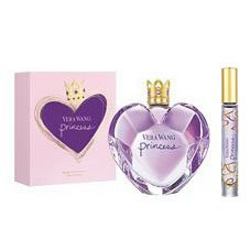 Princess Vera Wang 3.4 Oz Women Edt 0.21 Oz Roll on 2 PCS Gift Set
