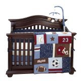Secure-Me Crib Liner - Play Ball - 1