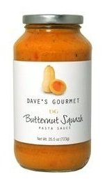 Dave's Gourmet Butternut Squash Pasta Sauce - 25.5 Ounces Bottles (Pack of 2) (Daves Gourmet Pasta Sauce compare prices)