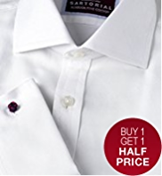 Sartorial Pure Cotton Oxford Weave Shirt