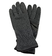 Fleece Lined Plain Gloves