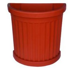 Bama vaso roma c/sottovaso cm. 50