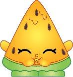2014 SHOPKINS FIGURES - MELONIE PIPS #012 SEASON 1 - ULTRA RARE - 1