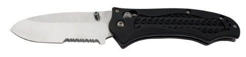 Benchmade ComboEdge AXIS Folding N680 Dive Knife (Black)