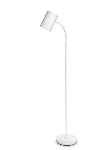 Philips Himroo Lampada da Terra Piantana per  Soggiorno, Salotto, Camera da Letto, Design Moderno ed Elegante - 1 Lampadina Attacco E27 (Non