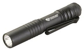 080926663183 - Streamlight MicroStream Ultra-compact Aluminum body with AAA Alkaline Battery, 3.5 Inch - 1.04 oz (Black) carousel main 0