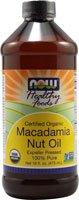 NOW Foods Certified Organic Macadamia Nut Oil 8212 16 fl oz