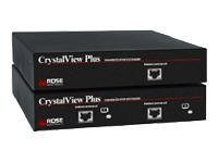 Rose Electronics Crk-2P1V Crystalview Plus Cat5/6 Kvm Extenderextender Kit - Dual Local, Single Video/Ps2