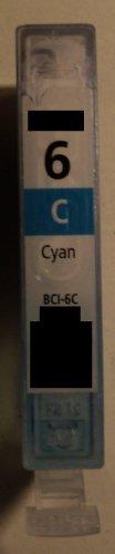 1x BCI 6c cyan blau Refill für Canon Drucker BJC-3000 3010 6000 6100 6200 6200s 6500 BJ-F300 F600v MPC 400 600F 700 photo 730 photo Multipass F30 F50 F60 F80 C100 C755 S400 S450 S4500 S500 S520 S530 S530D S600 S630 S6300 S700 S750 S800 S820 S830D S900 S9000 T-Fax 7960 i550 i560 i6500 i850 i865 i900d i905 i9100 i950 i965 i990 i9950 iP 3000 4000 5000 6000D 8500 MP 700 730 750 760 780 BCI-5c BJC-8200
