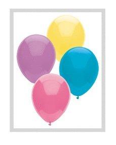 "PIONEER BALLOON COMPANY Pastel Assorted Latex Balloon, 11"" - 1"