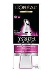 L'Oreal Paris Youth Code Regenerating Skincare Eye Cream Daily Treatment, 0.5 Ounce front-489240