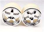 Traxxas 4972X Chrome Wheel, T-Maxx, 2-Piece