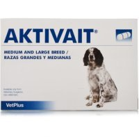 Aktivait Medium & Large Breed Capsules