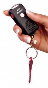 Personal Alarm Key Chain with Light
