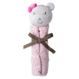 Carter's Just One You Monkey Security Blanket Rattle Pink