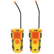 Nerf talkies walkie con un rango de 1000 '