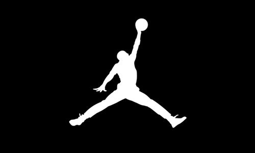 Michael air jordan vinyl lettering decal sticker, White at Amazon.com