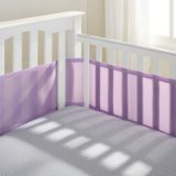 Why Choose BreathableBaby Mesh Crib Liner, Lavender