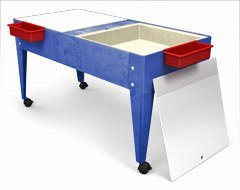 Manta Ray S8724 Double Mite Activity Center With 2 Mega Trays And Casters S8724