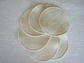 Washable Nursing Pads / Washable Breast Pads Hemp 3 pairs