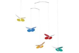 Flensted Mobiles Nursery Mobiles, Butterflies - 1