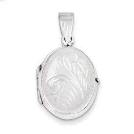 Genuine IceCarats Designer Jewelry Gift Sterling Silver Locket