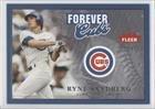 Ryne Sandberg #146/1,981 (Baseball Card) 2004 Fleer Greats of the Game Forever #14 F