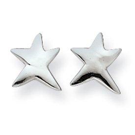Sterling Silver Star Post Mini Earrings
