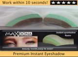 1 X Pair Magic Eyeshadow Instant Eyes Eye Shadow Temporary Transfer Sheet Sticker Make Up Makeup Tattoo Tatoo- Choose From 30 Colours/ Shades (Grey/ Pale Green)