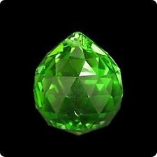 40mm Asfour Crystal Ball Prisms #701-40 (Green)
