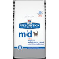 Hill's Prescription Diet m/d Feline Weight Loss Low Carbohydrate Glucose