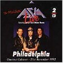 Live in Philadelphia 1992 by Asia (1997-09-30)