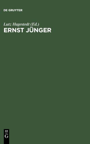 Ernst Jünger. Politik - Mythos - Kunst