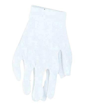 Cotton Clown Gloves - White Costume Accessory