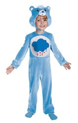 Care Bears Grumpy Bear Classic Toddler Costume M (3T-4T) front-1002947
