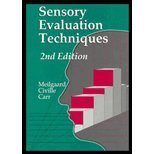 Sensory Evaluation Techniques, by Morten C. Meilgaard, B. Thomas Carr, Gail Vance Civille