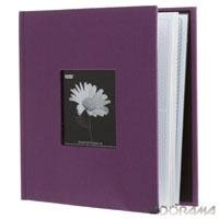 Pioneer Photo Albums 4x6in 2-up 200 Pocket Wildberry Purple