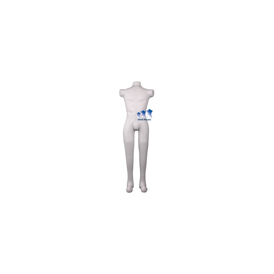 Inflatable Male Mannequin, Full Size Ivory