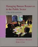 Managing Human Resources In The Public Sector