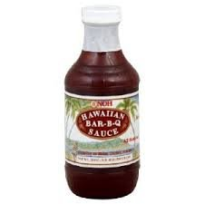 Noh Foods Of Hawaii Sauce, Bbq, 20-Ounce (Pack Of 3)
