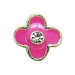 エムプティ A204 カーブシリーズ プチポップ flower ゴールド×ピンク