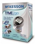 Cheap McKesson TRUE2go Blood Glucose Monitoring System (Includes 10 Test Strips, Instructions, Test Log, and Carrying Case) (MCK-40832400)