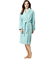 Shawl Collar Cosy Dressing Gown