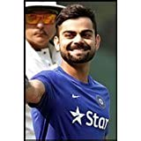 Virat Kohli Cricket Poster. Printelligent Poster Collection Of Sports Stars For Die Hard Cricket Fans. Images Of Wall Posters For Room In Home And Office. Poster-43