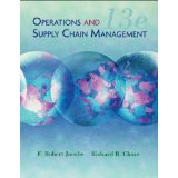 Operations and Supply Chain Mangement (Selected Materials for MG 375 Park University- 13th Edition)