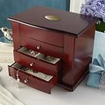 Wooden Jewelry Box By Lenox front-734356