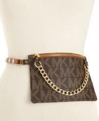MICHAEL Michael KorsMichael Kors Brown MK Signature Fanny Pack Belt Bag Medium
