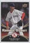 Clay Buchholz Boston Red Sox (Baseball Card) 2008 Upper Deck Rookie Debut #4