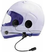 J&M Performance Series Clamp-On Headset For Most Open/Flip-Up/Full-Face Style With Aeromike Iii For H-D Hs-Bcd279-Un-Ho